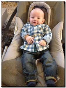Lukas stoer hemd en jeans