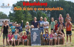 Data vakantiekampen kinderen Aalst beschikbaar op Spiegelveld